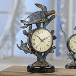 Duo Sea Turtle Table Clock