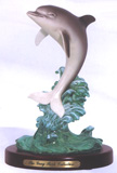 Leaping Dolphin Figurine