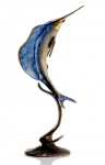 Single Sailfish Sculpture