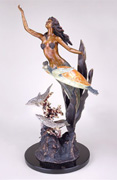 Large Mermaid & Sea world Sculpture