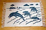 Printed Dolphin Rug