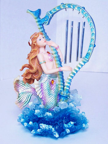 Mermaid Amp Harp Wind Chime Dolphins Unlimited