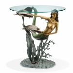 Mermaid & Sea Turtles End Table