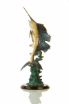 Majestic Sailfish Sculpture