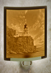 Silent Sentinel Lithophane Night Light