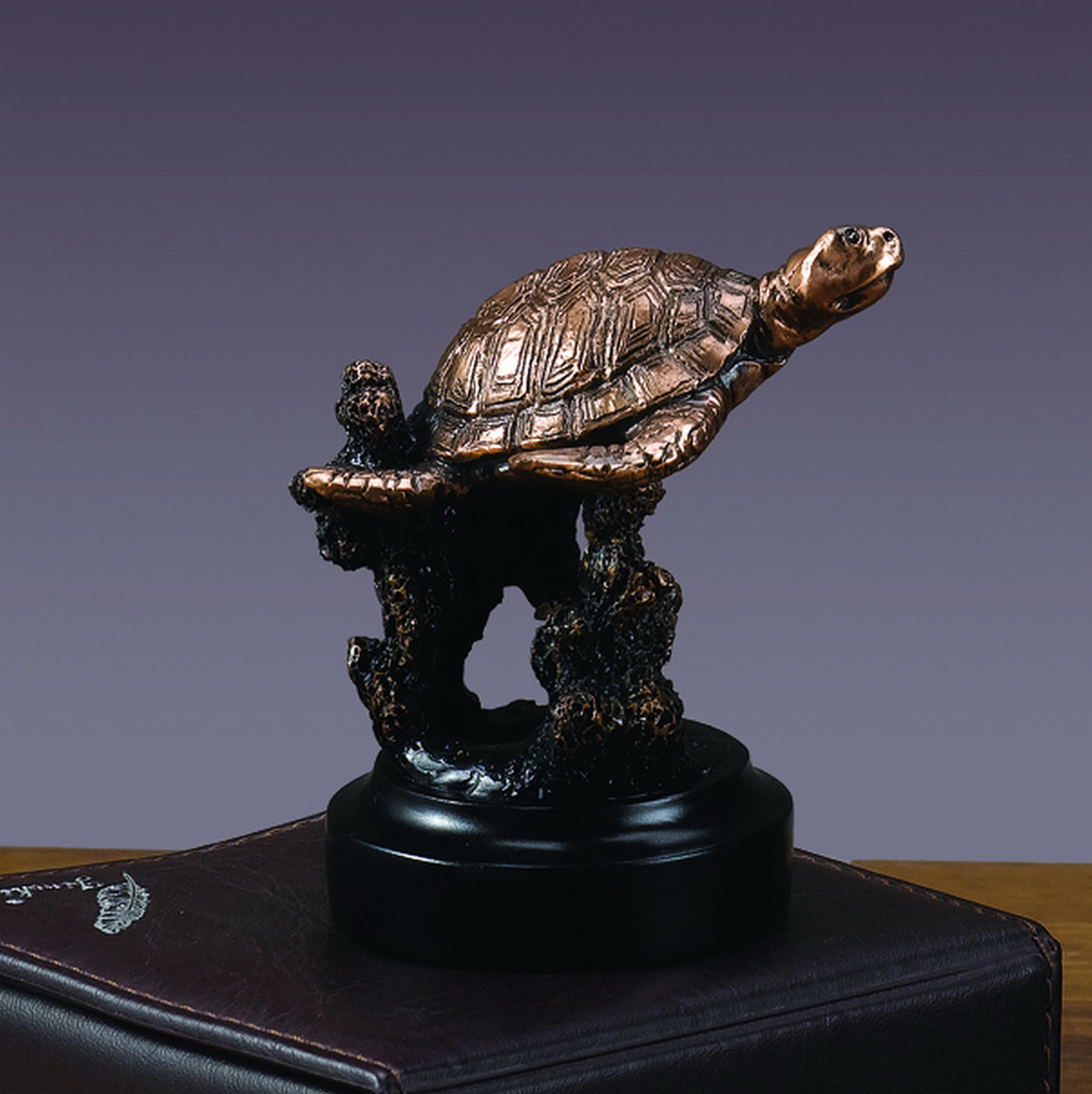 Gliding Sea Turtle Sculpture