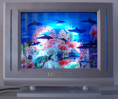 TV Style Dolphin Motion Lamp