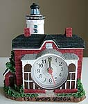 St. Simons, Georgia Lighthouse Alarm Clock