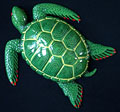 "8"" Sea Turtle Wall Statue #D"
