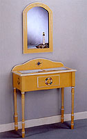 Lighthouse Console Table & Wall Mirror