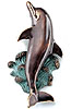 Bronze Dolphin Door Knocker
