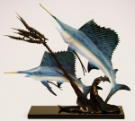 Imperial Sailfish Sculpture