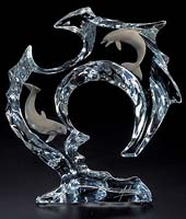 """Flow"" Dolphin Sculpture"
