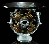 "Fine Art ""Ancient Journey"" Limited  Edition Sea Turtle End Table"