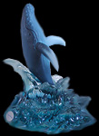 Limited Edition  Humpback Whale Figurine by Wyland!  Individually Numbered! With Certificate of Authenticity!!